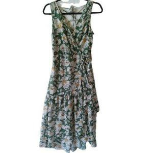 Band of Gypsies Floral Wrap Style Dress NWOT Sz XS